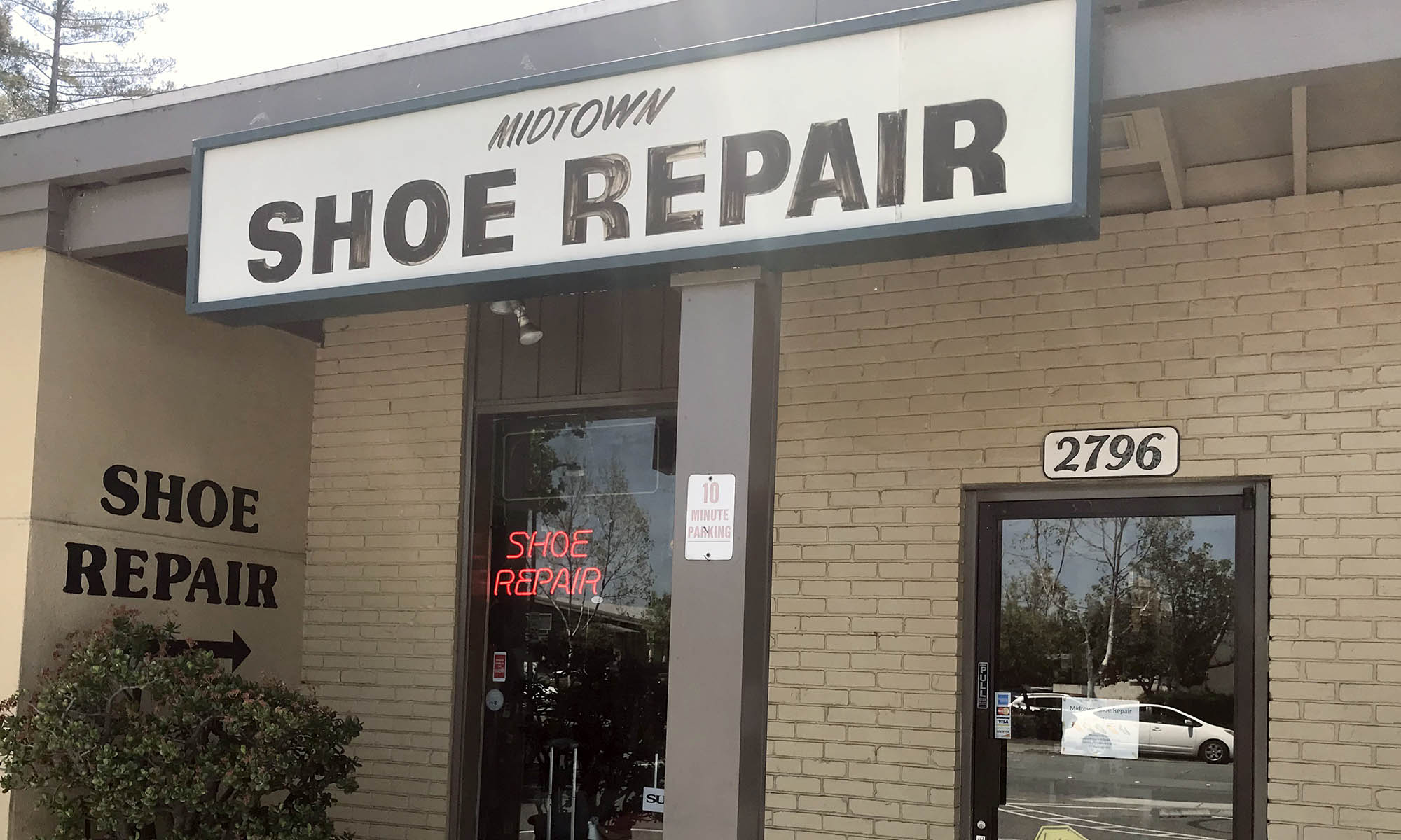 Midtown Shoe Repair Palo Alto